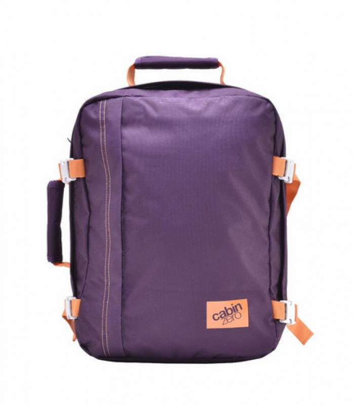 CabinZero MINI ULTRA-LIGHT Odlehčený batoh 28 l (Purple Cloud)