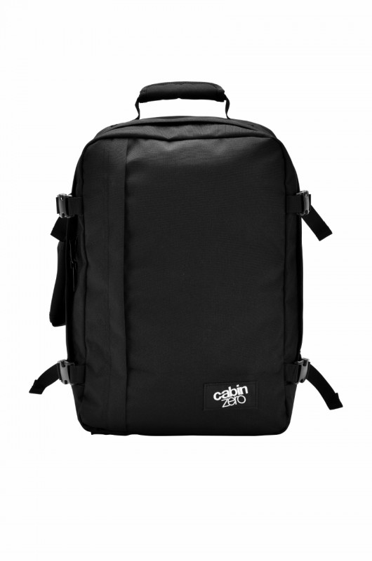 CabinZero MEDIUM ULTRA-LIGHT Odlehčený batoh 36 l (Absolute Black)