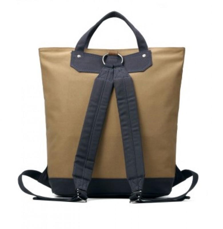 5e37dd2868 Batoh a taška v jednom z pevného canvasu Troop London ≡ Kufry ...