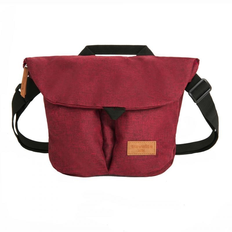 Travelite BASICS Messenger Bag, S (Bordeaux)