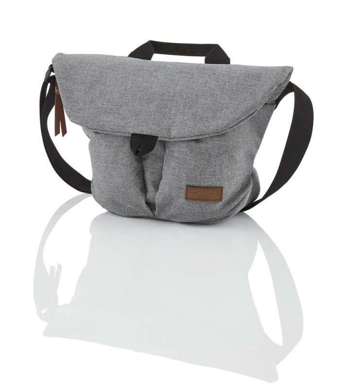 Travelite BASICS Messenger Bag, S (Grey)