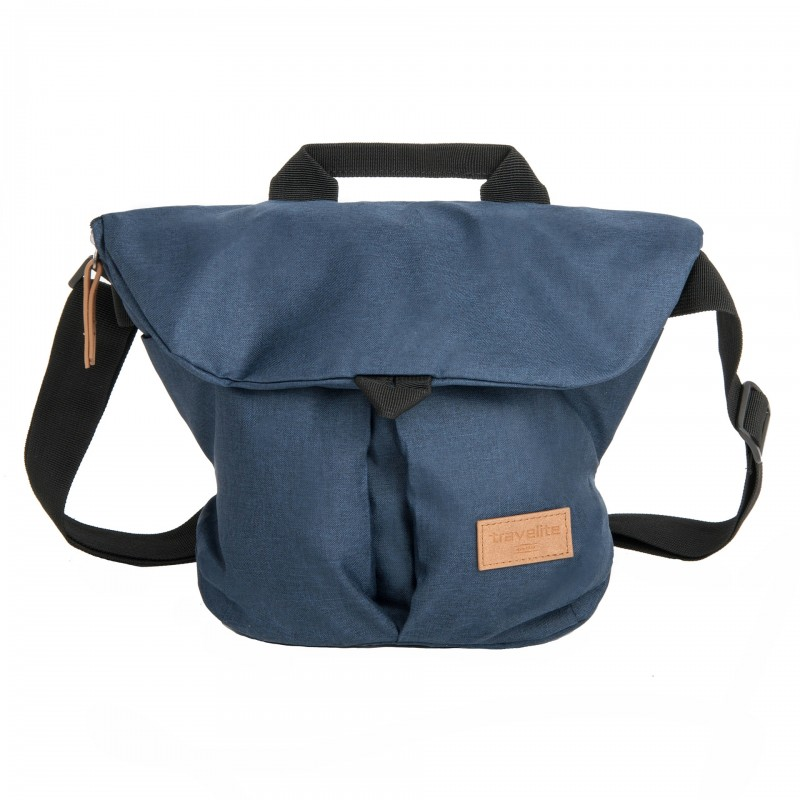 Travelite BASICS Messenger Bag, S (Navy)