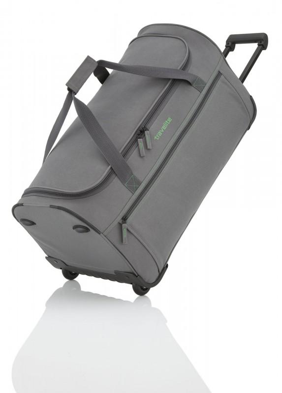 Travelite BASICS Cestovní taška na dvou kolečkách (Grey)