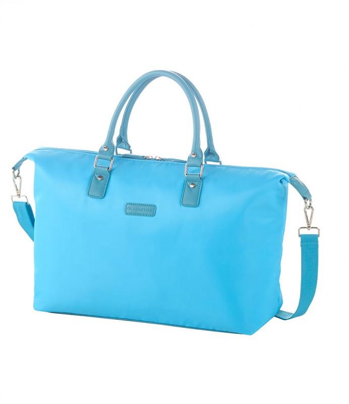 Gladiator VELVET Dámská cestovní taška, M (Blue)