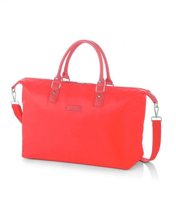 Gladiator VELVET Dámská cestovní taška, M (Red)