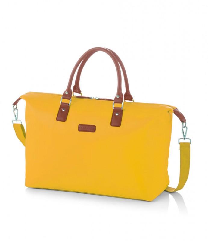 Gladiator VELVET Dámská cestovní taška, M (Yellow)