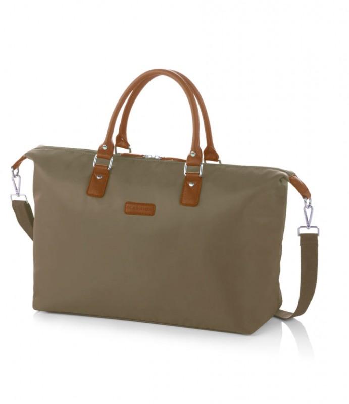 Gladiator VELVET Dámská cestovní taška, M (Green)