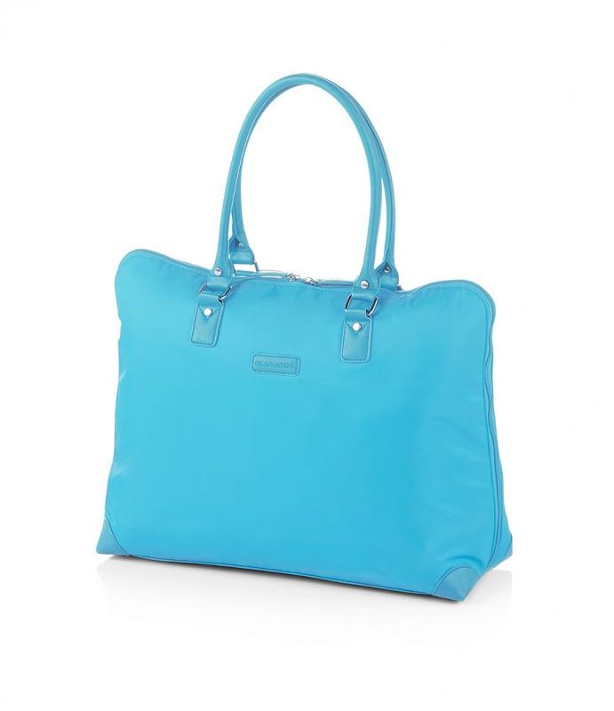 Gladiator VELVET Dámská cestovní taška, S (Blue)