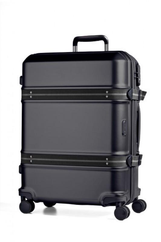 March TRUNK Elegantní cestovní kufr z Makrolonu 65cm (Black)