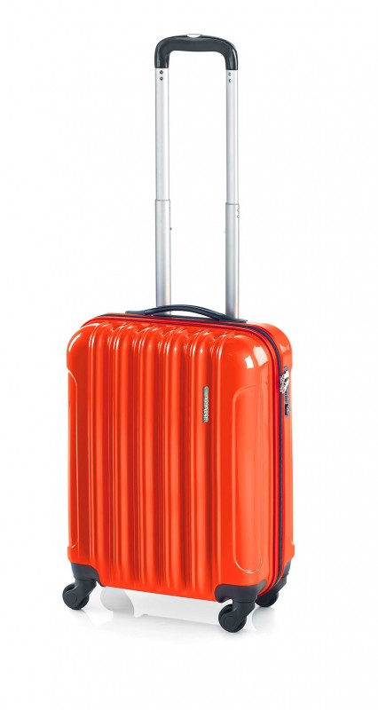 Gladiator NEON Lehký polykarbonový kufr s TSA (Orange)
