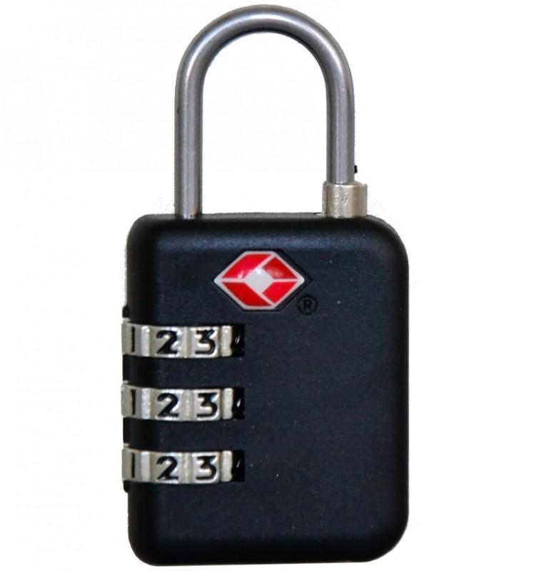 REABags Visací kódový TSA zámek (černý)