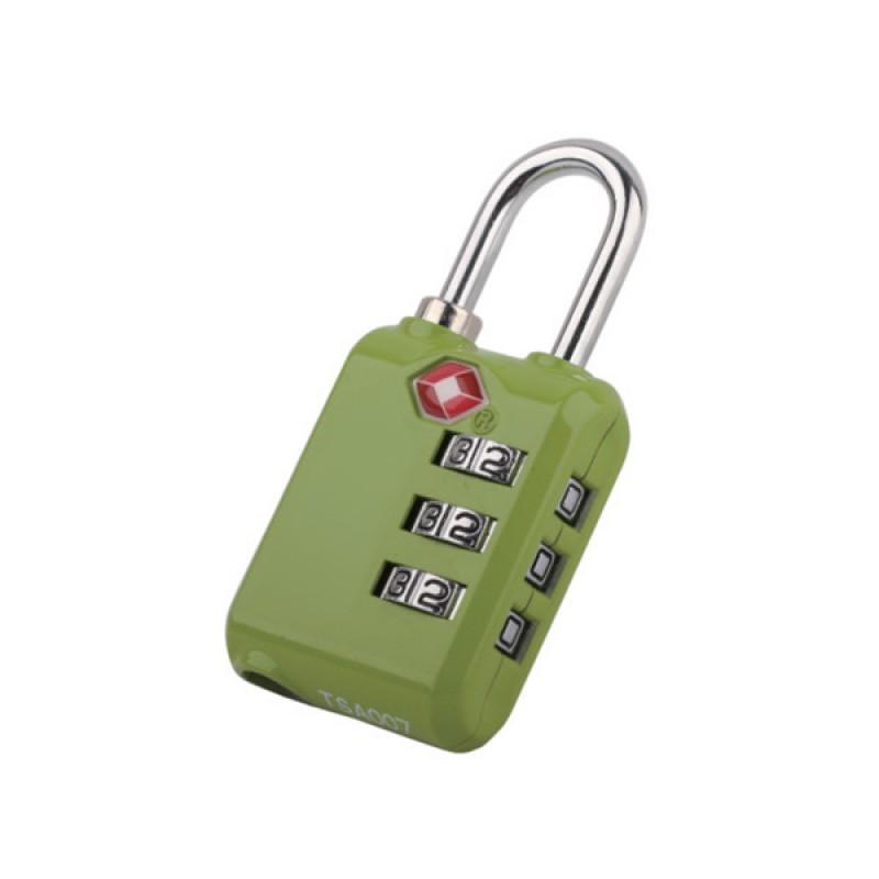 REABags Visací kódový TSA zámek (zelený)