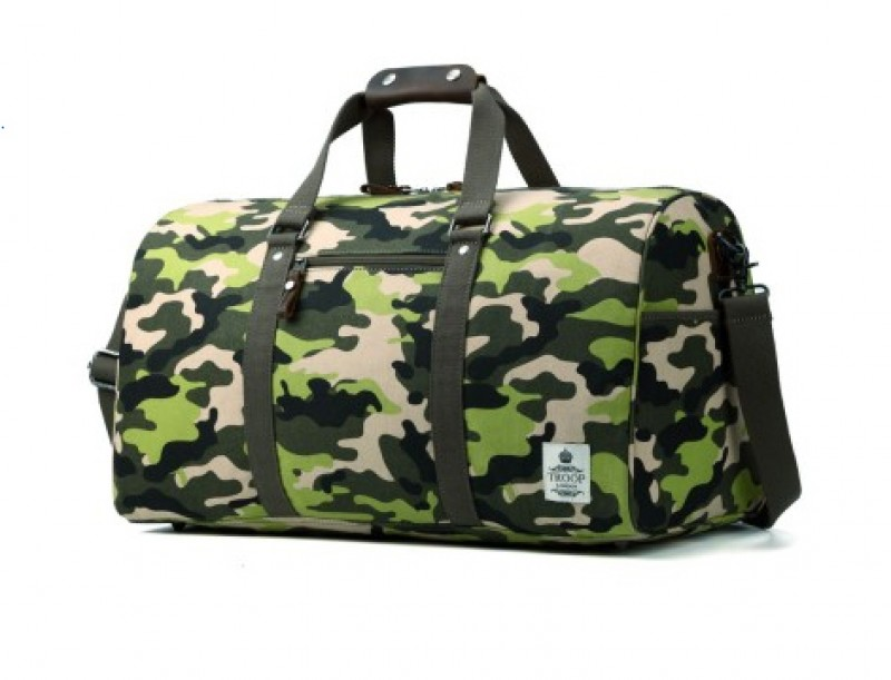 Troop London TRP0406 Velká cestovní brašna (Camouflage)
