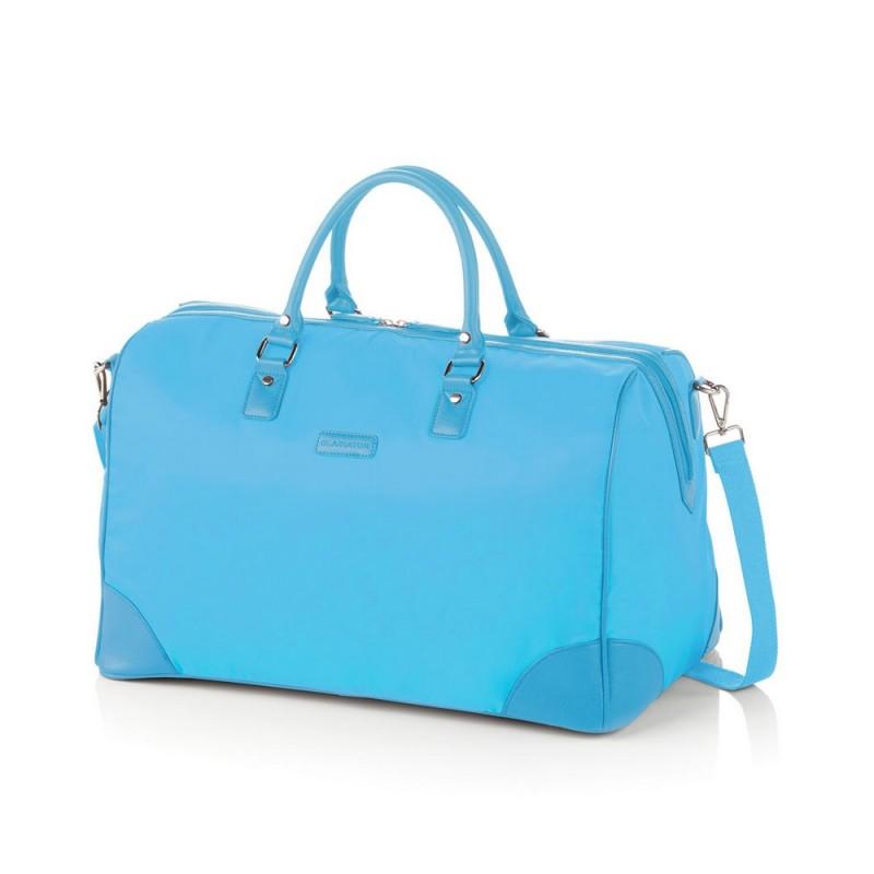 Gladiator VELVET Dámská cestovní taška, L (Blue)