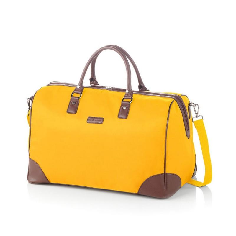 Gladiator VELVET Dámská cestovní taška, L (Yellow)
