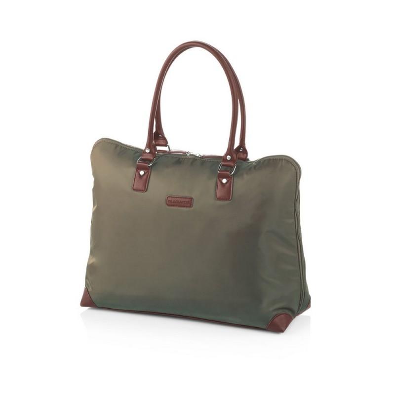 Gladiator VELVET Dámská cestovní taška, S (Green)