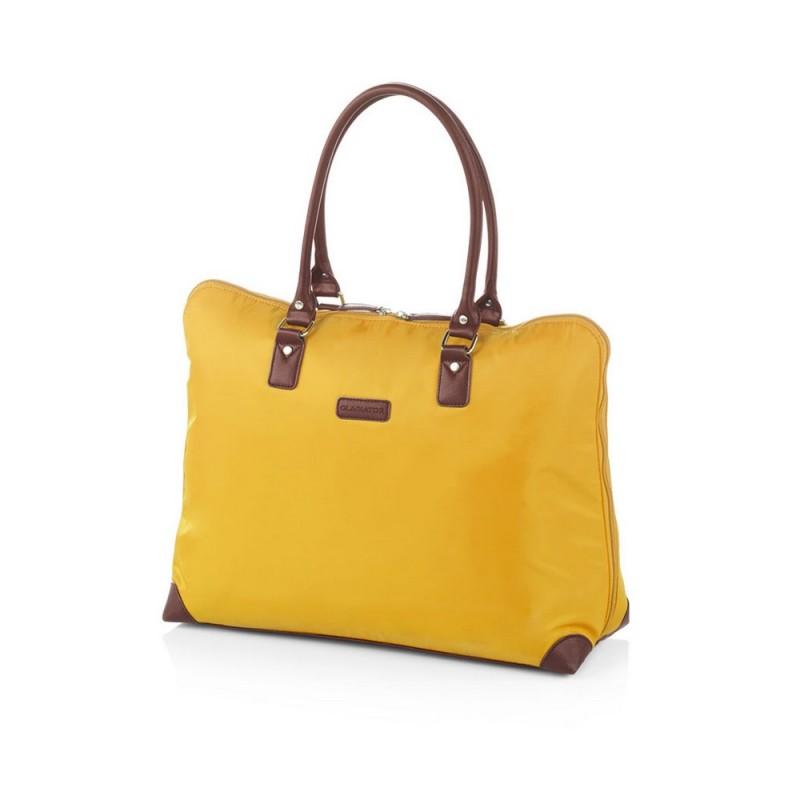 Gladiator VELVET Dámská cestovní taška, S (Yellow)