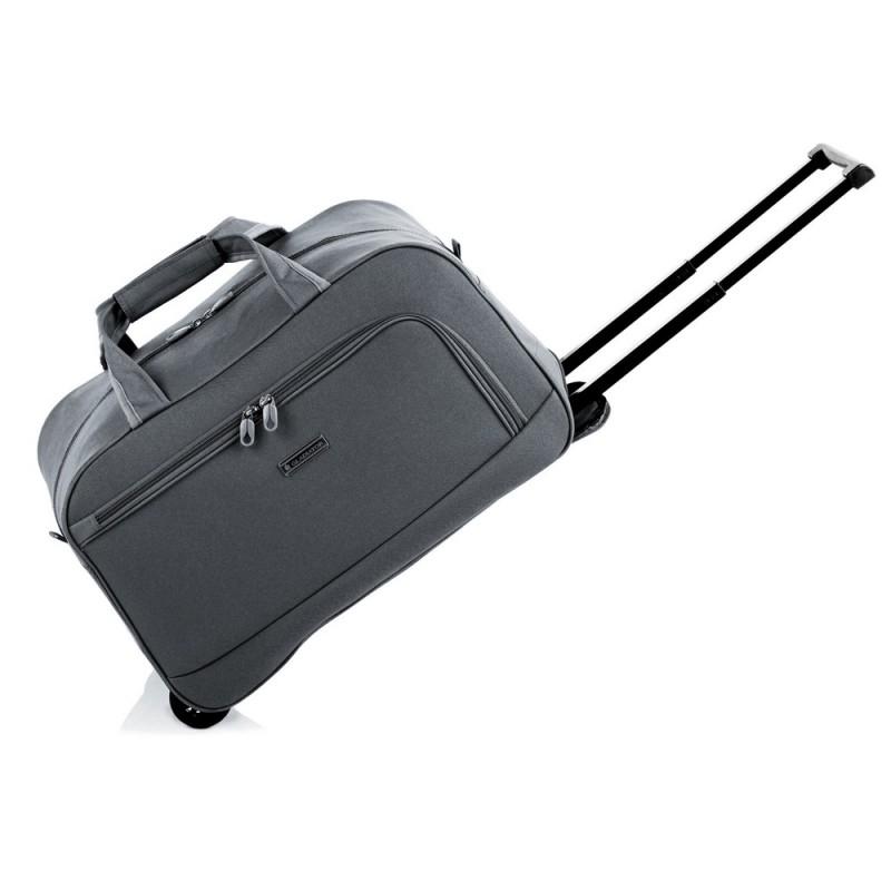 Gladiator WAVY Malá cestovní taška na kolečkách S (Black)