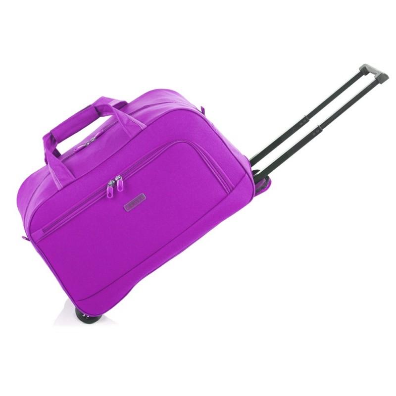 Gladiator WAVY Malá cestovní taška na kolečkách S (Lilac)