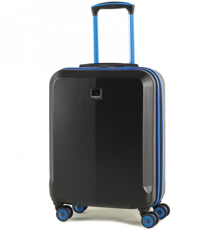 Member´s ONYX Kabinové zavazadlo z ABS 55cm (Černá/modrá)