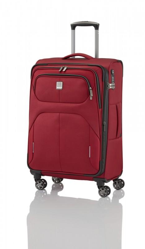 Titan NONSTOP Moderní textilní kufr 68cm (Red)