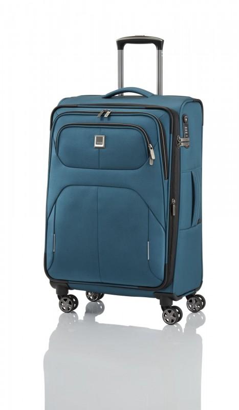 Titan NONSTOP Moderní textilní kufr 68cm (Petrol)