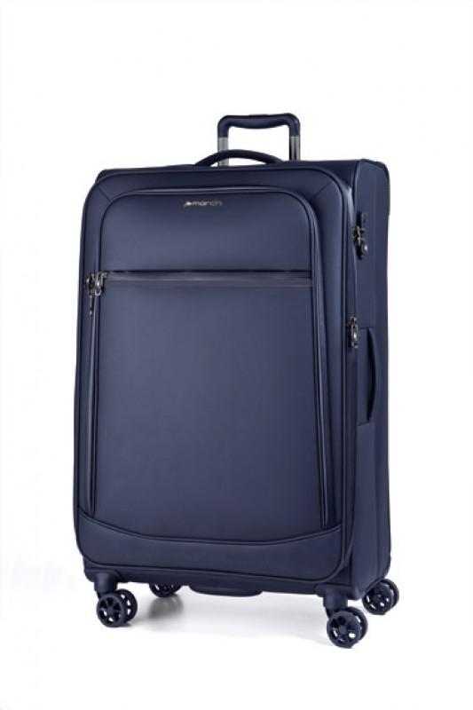 March 4 SEASONS Velký nepromokový textilní cestovní kufr 78cm (Navy)