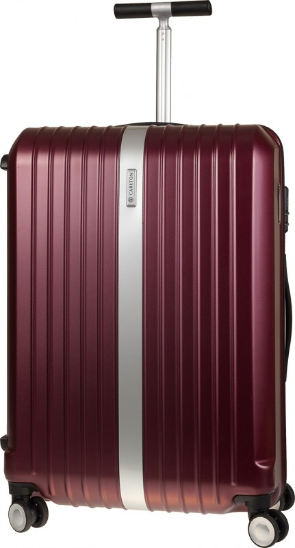 Carlton STARK Spinner Trolley Case 55cm (Dark Red)