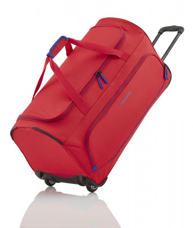 Travelite BASICS Cestovní taška na dvou kolečkách (Red)