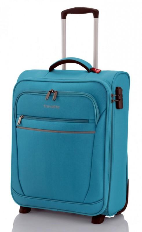 Travelite CABIN Textilní palubní kufr 2w (Turquoise)