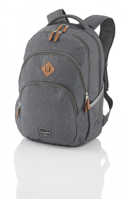 Travelite BASICS Stylový městský batoh 22 l (Anthracite)