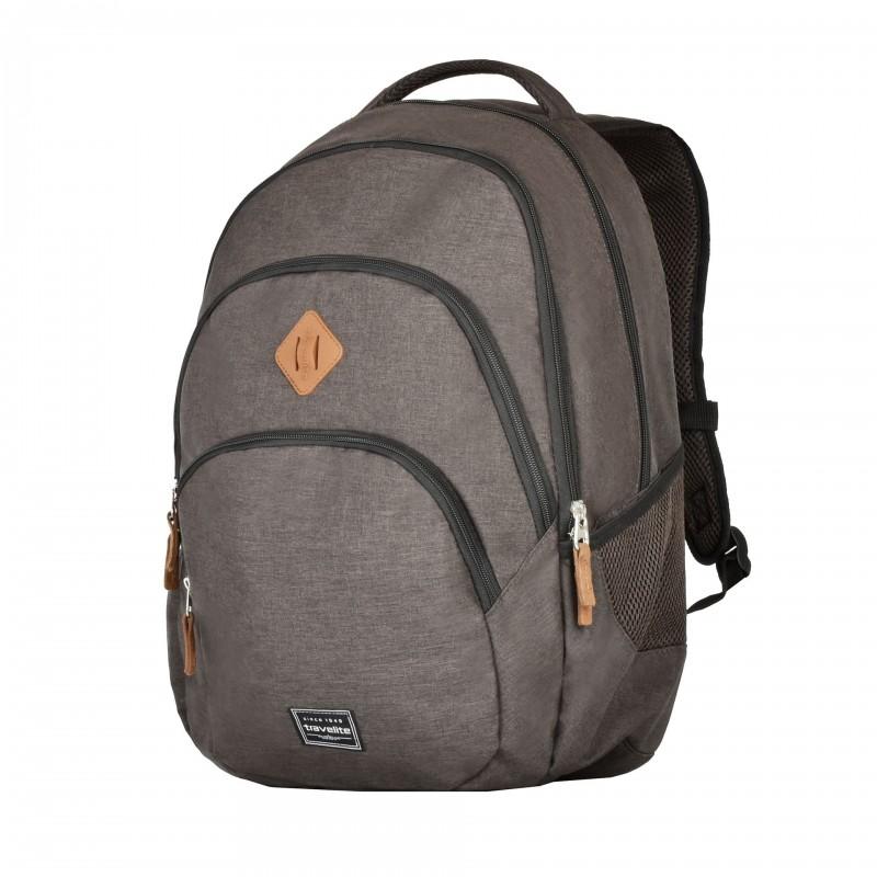 Travelite BASICS Stylový městský batoh (Brown)