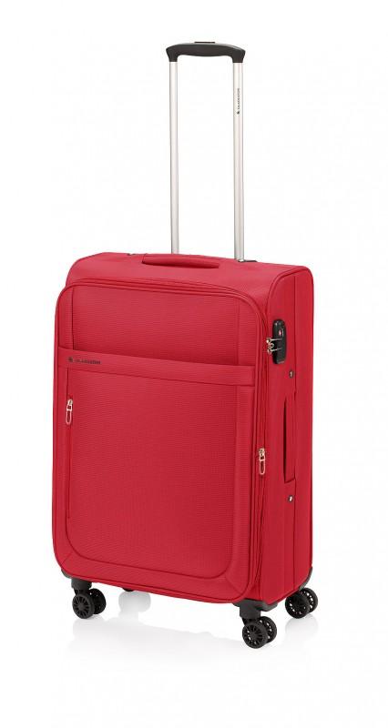 Gladiator MONDRIAN Rozšířitelný cestovní kufr 70cm (Red)