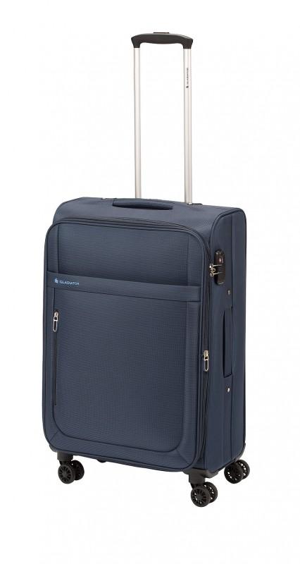 Gladiator MONDRIAN Rozšířitelný kabinový kufr 55cm (Blue)