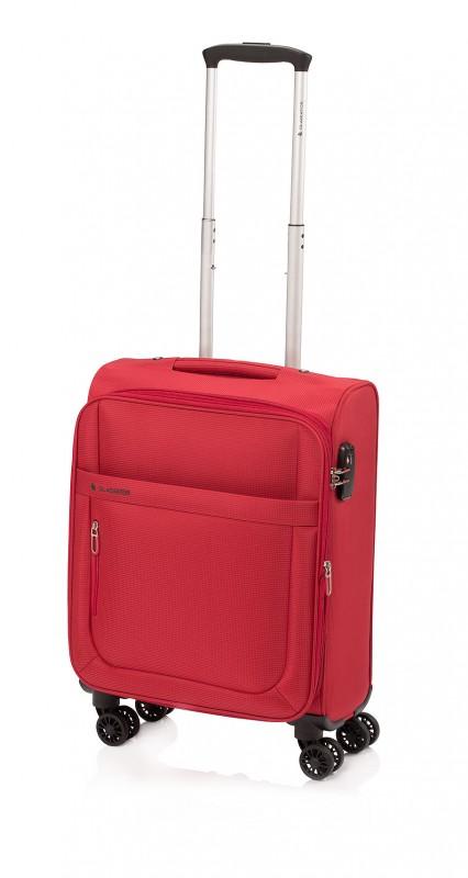 Gladiator MONDRIAN Rozšířitelný kabinový kufr 55cm (Red)