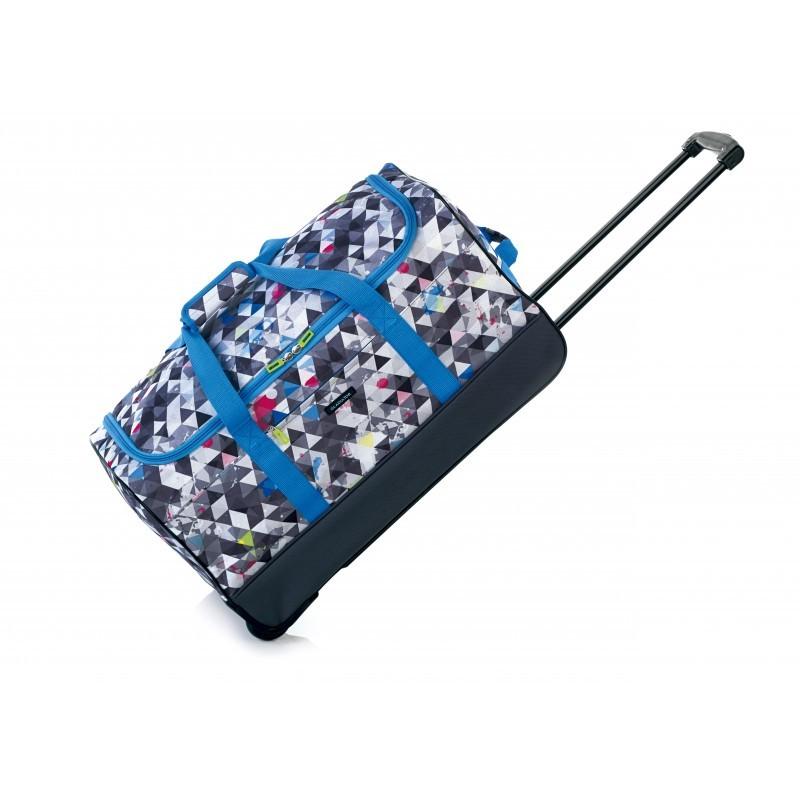 Gladiator CREW Cestovní taška 2w pro mladé cestovatele (Grey print)
