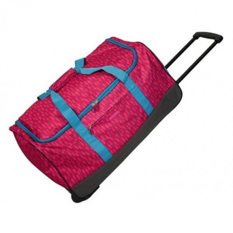 Gladiator CREW Cestovní taška 2w pro mladé cestovatele (Fuchsia print)