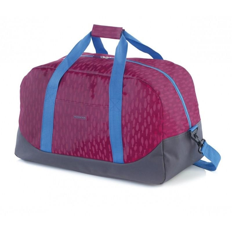 Gladiator CREW Malá cestovní taška pro mladé cestovatele (Fuchsia print)