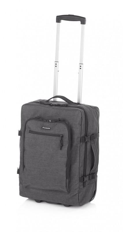 Gladiator CREW DENIM Palubní kufr pro mladé cestovatele 55cm (Grey)