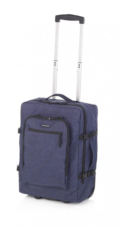 Gladiator CREW DENIM Palubní kufr pro mladé cestovatele 55cm (Navy)