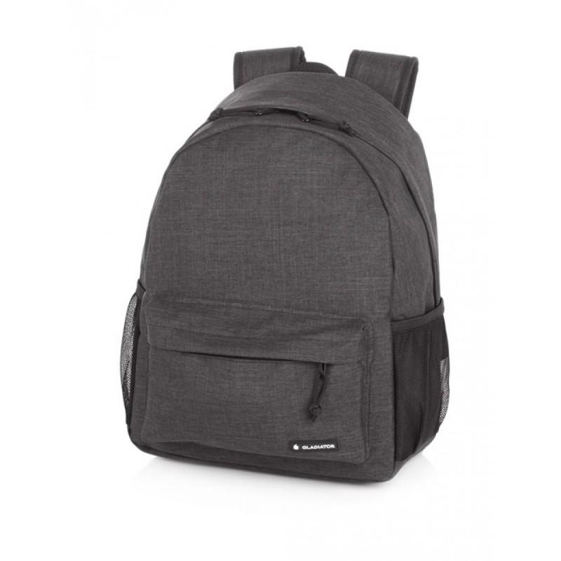 Gladiator CREW DENIM Malý batoh pro mladé cestovatele 26 l (Grey)