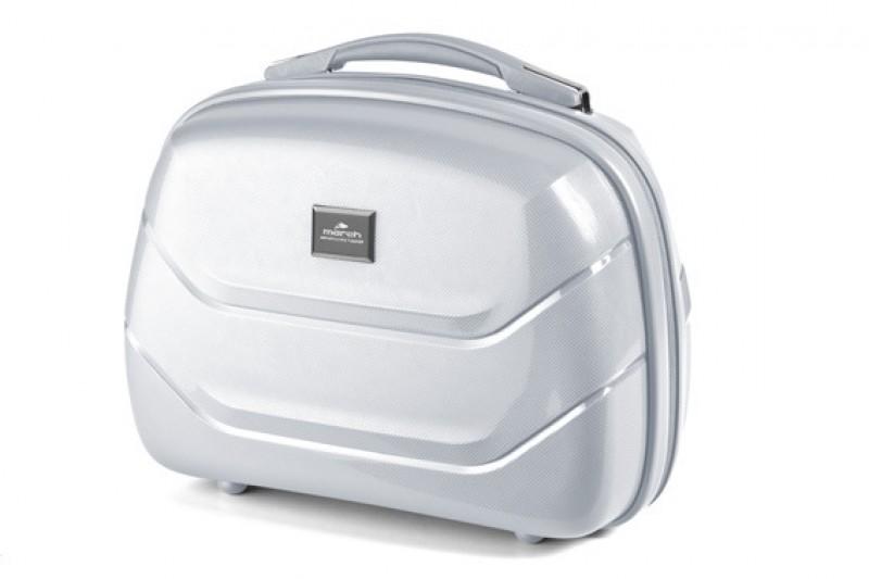 March VIENNA Kosmetický kufřík (Silver)