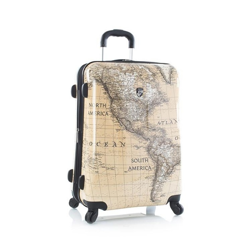 Heys CLASSICAL WORLD Elegantní kufr 66cm (Sepia)