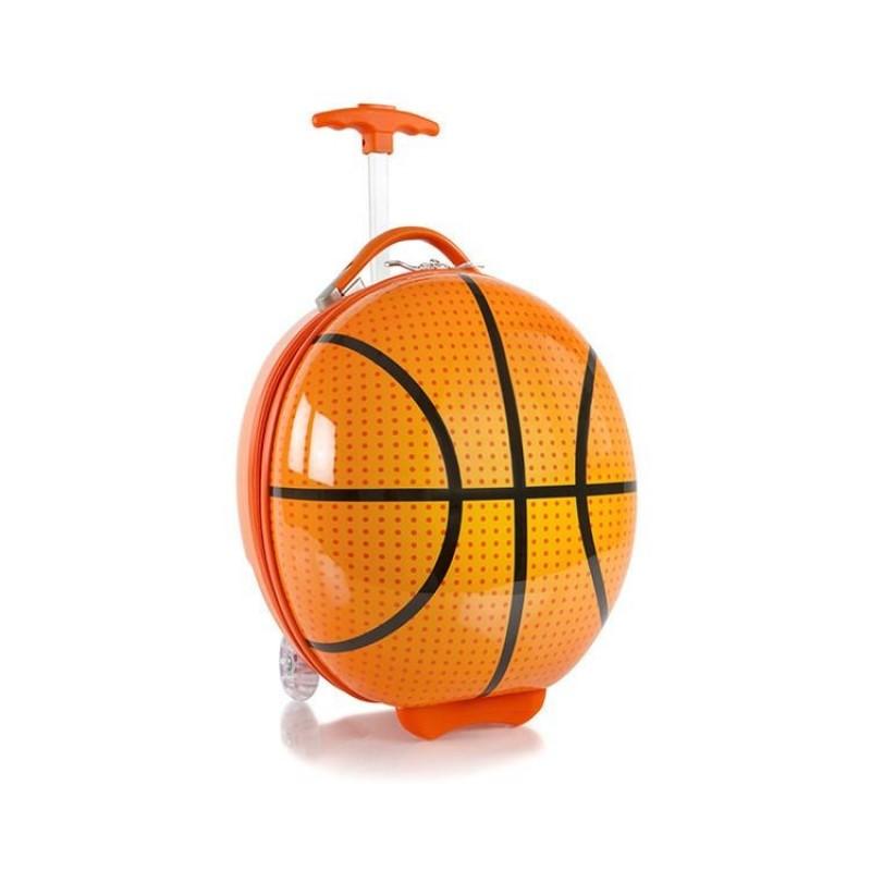 Heys TRAVEL TOTS Dětský kufr, motiv Basketball