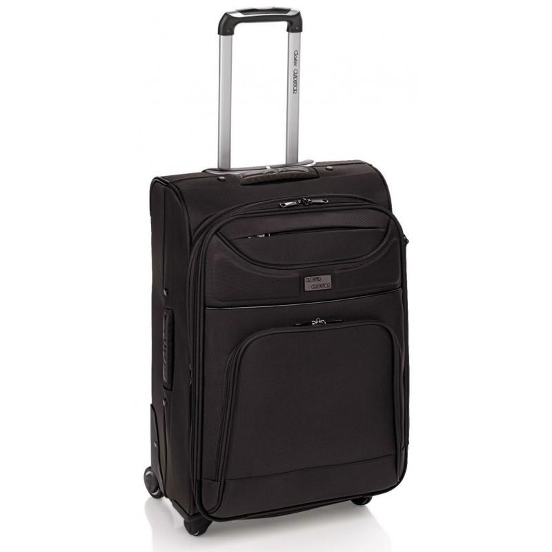 Gladiator VEYRON Velký rozšířitelný cestovní kufr 78cm (Black)