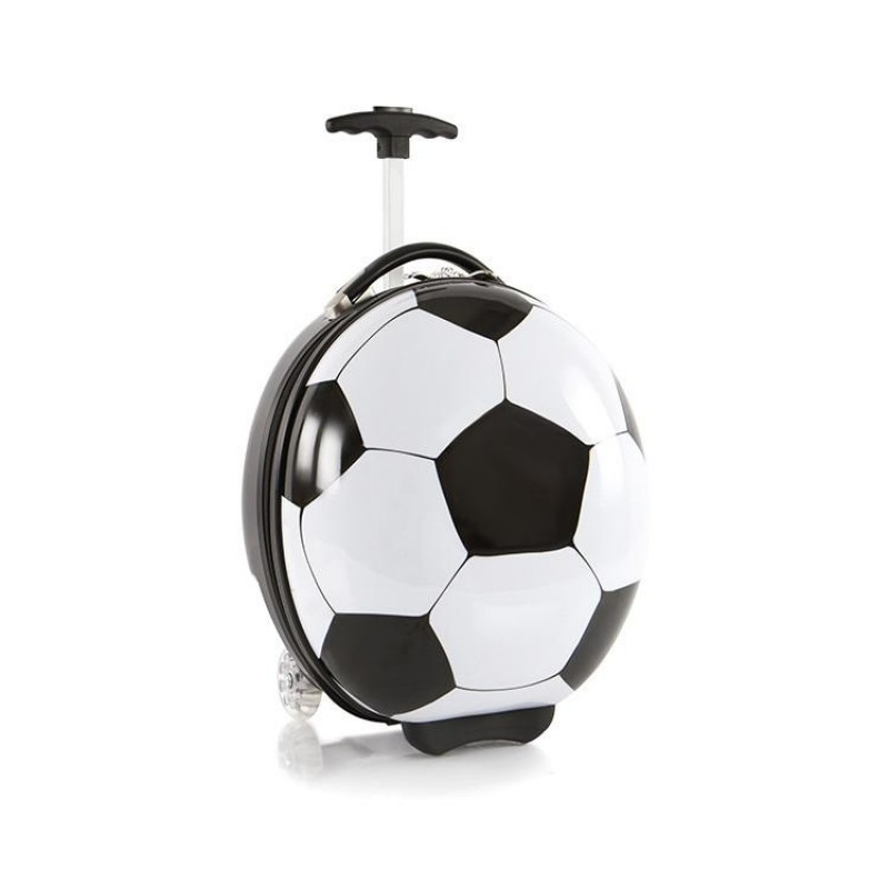 Heys TRAVEL TOTS Dětský kufr, motiv Soccer Ball