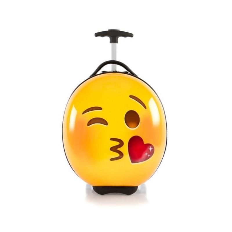 Heys E-MOTION Dětský kufr, motiv Kiss