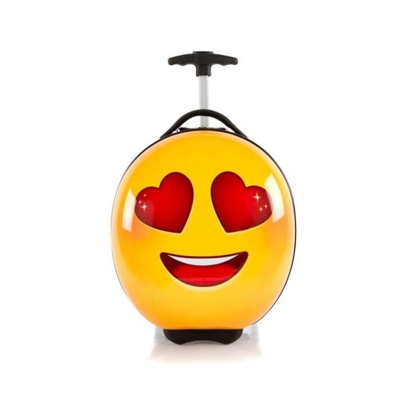 Heys E-MOTION Dětský kufr, motiv Love