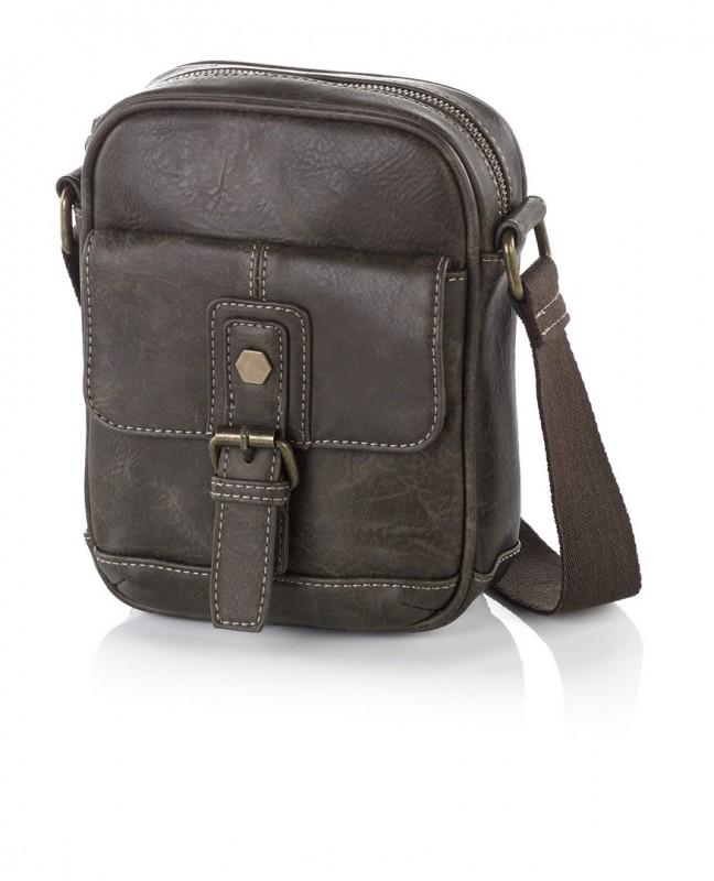 Vogart LEGEND Malá report taška pro muže (Brown)