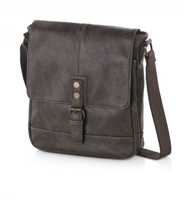 Vogart LEGEND Report taška s klopou pro muže (Brown)